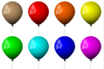 Find Helium Balloons